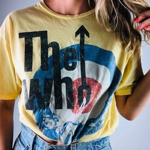 [Vintage 08] The Who Band Concert Short Sleeve T